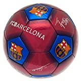 FCB Barcelona Unisex-Youth Barca Barcelona Size 5 Signature Football, Multi, 5
