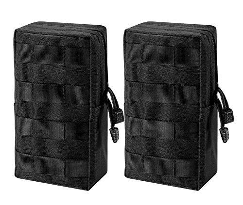 Zeato MOLLE-Beutel, Tasche - kompakt, Wasser -splash abweisend, Mehrzweck-Tasche, mit Halteschlaufe