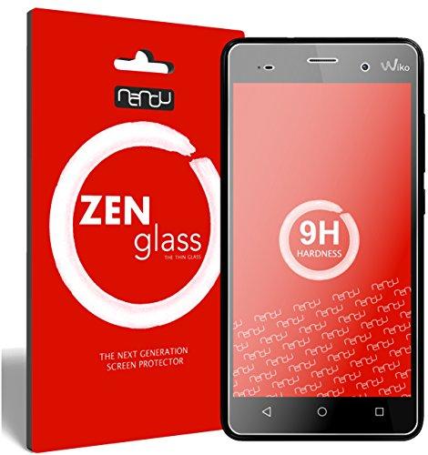 ZenGlass Flexible Glas-Folie kompatibel mit Wiko Lenny 3 Panzerfolie I Bildschirm-Schutzfolie 9H I (Kleiner Als Das Gewölbte Bildschirm)