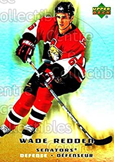 (CI) Wade Redden Hockey Card 2005-06 McDonalds Upper Deck (base) 11 Wade Redden
