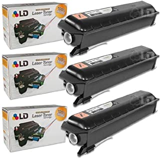 LD Compatible Toner Cartridge Replacement for Toshiba T2320 (Black, 3-Pack)