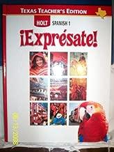 Best holt spanish 1 expresate teacher edition Reviews