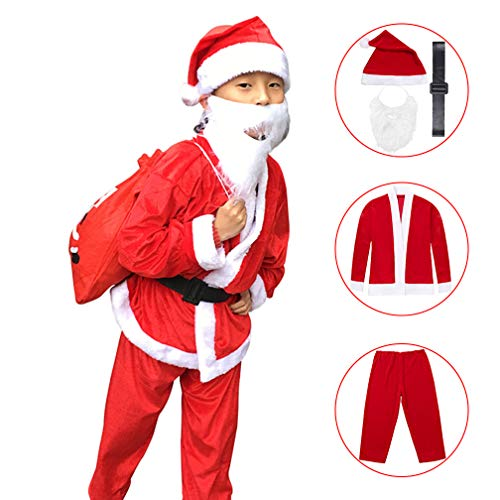 Jaaytct Santa Suit Christmas Party Fancy Dress Cosplay Costume Outfit Santa Claus Costume for Kids(B - http://coolthings.us