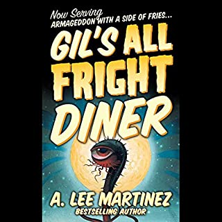 Gil's All Fright Diner audiobook cover art