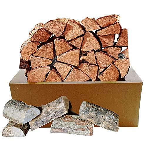 GY Caja de 5 kg de Troncos de Ceniza secados al Horno Mayor Tiempo de combustión cocinar Carnes, fogatas, Estufas, chimeneas Abiertas y crematorios. (Size : 5KG)