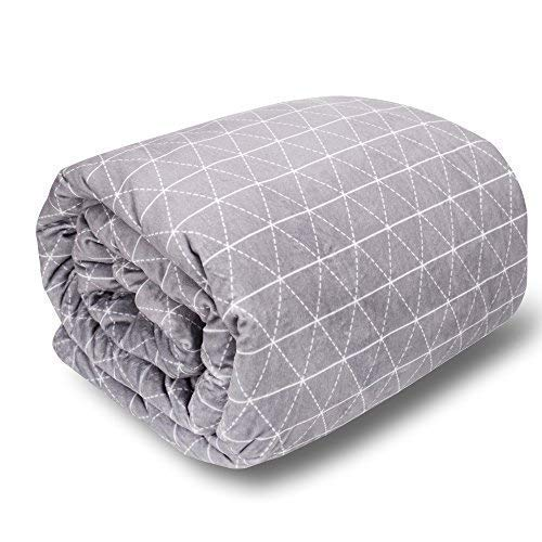 "For Sale! rocabi Deluxe Weighted Blanket King Size Bed | 30 lbs 80""x86"" Heavy Weighted Blanket f..."