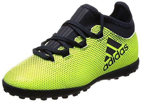 adidas Jungen X Tango 17.3 Tf J Fußballschuhe, Weiß, Gelb (Amasol / Tinley / Amasol), 38 EU