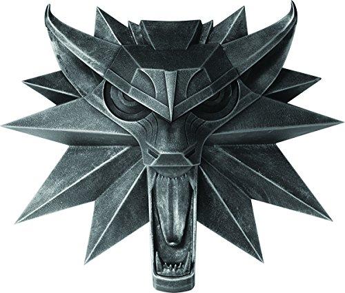 Dark Horse Comics 30-683 The Witcher 3 Wolf Wall Sculpture Replica, Gray