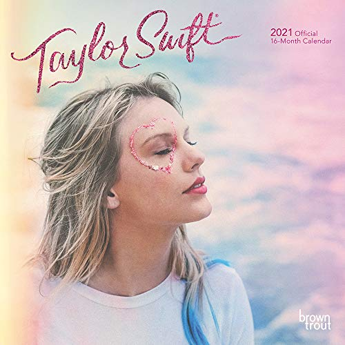 Taylor Swift 2021 7 x 7 Inch Monthly Mini Wall Calendar, Music Pop Singer Songwriter Celebrity