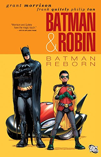 Batman And Robin TP Vol 01 Batman Reborn (Batman & Robin) by Grant Morrison (1-Apr-2011) Paperback