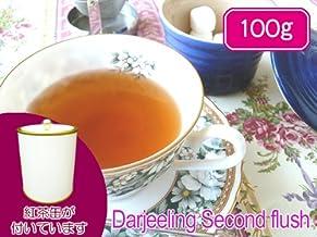 【本格】紅茶 ダージリン 茶缶付 セカンドフラッシュ 100g