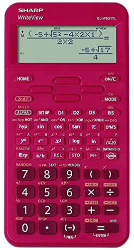 Sharp EL-W531TL RD Wissenschaftlicher Taschenrechner