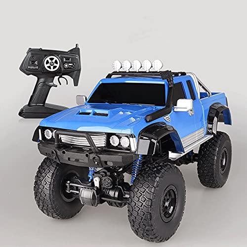 LQZCXMF Camioneta Camioneta para Escalar Camión Carro De Medio Metro Vehículo Todoterreno De Alta Velocidad Niños Carga De Control Remoto Coche De Juguete Coche De Control Remoto De Potencia Completa