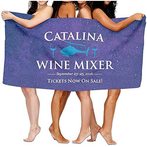 dingjiakemao Bralla Catalina jaarlijkse wijn mixer 80 x 130 CM katoenen partij handdoek