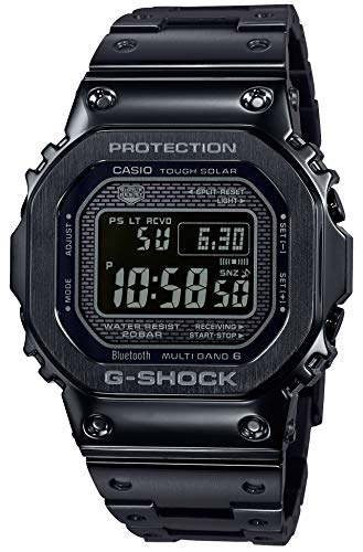 CASIO G-SHOCK GMW-B5000GD-1JF G-SHOCK Reloj solar negro con radio conectado (productos originales de Japón)