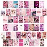 BeYumi 50 Stück Ästhetisches Bild für Wandcollage, 4