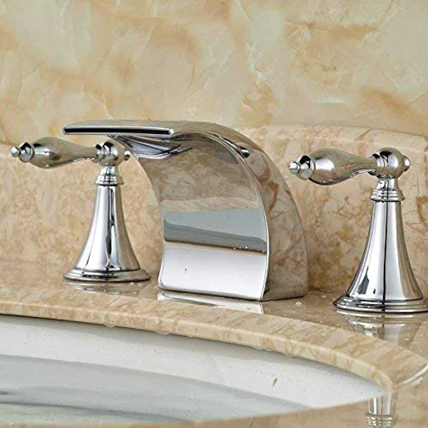 Oudan Simple waterfall faucet warm basin faucet waterfall faucet G12 (color   G1 2)