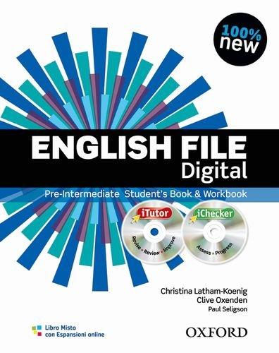English file digital. Pre-intermediate. Student's book-Workbook. Without keys. Per le Scuole superiori. Con espansione online