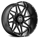20' Inch Hostile H108 Sprocket 20x12 8x6.5' -44mm Matte Black Wheel Rim