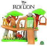 Le Roi Lion - Classic-Le Roi Terre des Lions avec 3 Figurines et Accessoires, LNN07000