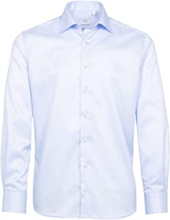 Eterna Long Sleeve Shirt Modern FIT Twill uni