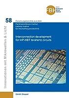 Interconnection development for InP-HBT terahertz circuits
