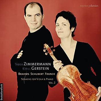 Sonatas for Viola & Piano, Vol. 2