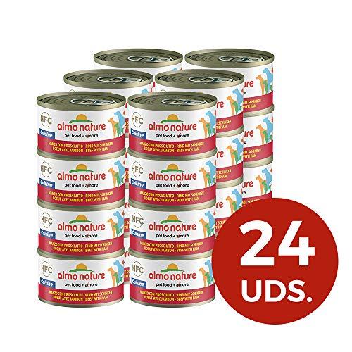 almo nature HFC Cuisine - Cibo Umido per Cani, 95 g, Confezione da 24