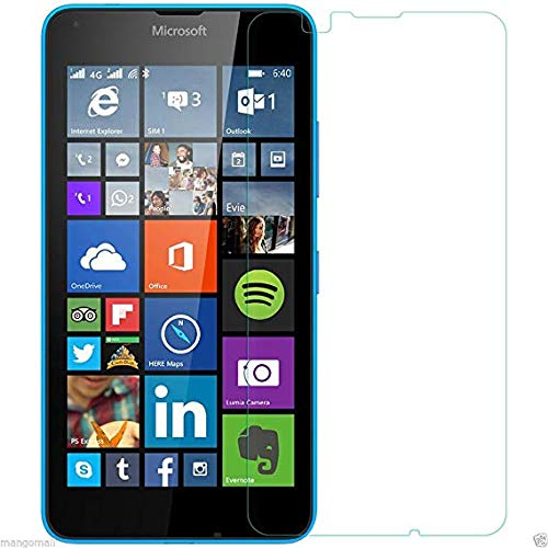 WE-CARE Plastic Unbreakable Screen Protector for Microsoft Lumia 640 XL Far Better Than Tempered Glass with Impossible Anti Shock and Hammer Proof Protection, Transparent