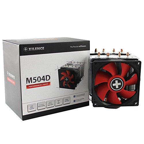 Xilence Performance C Serie   CPU Kühler   XC044   Doppeltower   Heatpipe   Multi Sockel   rot/schwarz