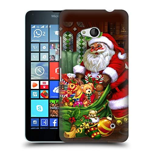 Head Case Designs Oficial Simone Gatterwe Los Regalos Invierno Eterno Carcasa rígida Compatible con Microsoft Lumia 640 / Dual SIM