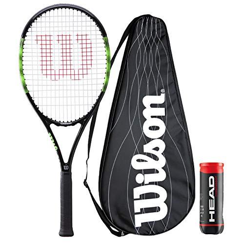 Wilson Blade Feel Team 103 - Raqueta de tenis + funda de