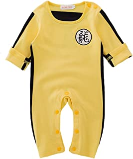 bruce lee yellow jumpsuit for baby