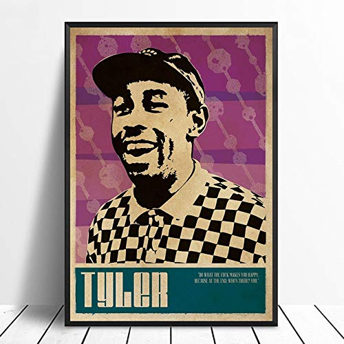 wopiaol Sin Marco Tyler The Creator Music Singer Poster Rap Music Band Star Poster Wall Art Painting Home Decor Canvas Print