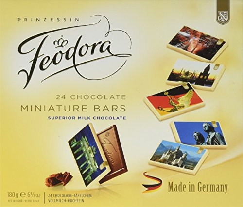 Feodora Made In Germany Tablets, 6.3 Ounce Box