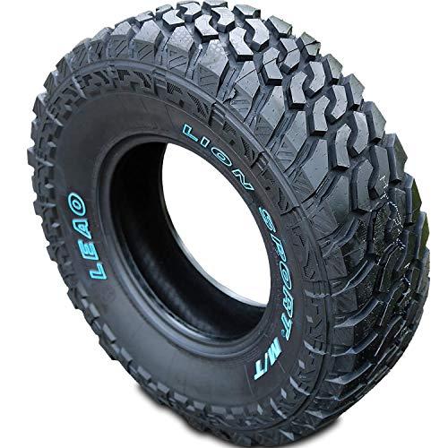 Set of 4 (FOUR) Leao Lion Sport MT Mud Off-Road Light Truck Radial Tires-LT285/55R20 285/55/20 285/55-20 122/119Q Load Range E LRE 10-Ply OWL Outlined White Letters