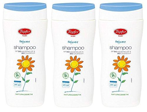 Töpfer Babycare Shampoo, 3er pack (3 x 200ml)