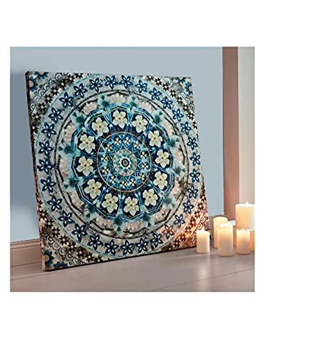 Pureday -   Bild Blue Mandala -