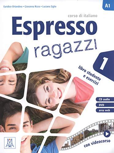 Espresso ragazzi. Corso di italiano A2. Con DVD-ROM (Vol. 2): Libro studente e esercizi + CD audio + DVD 1
