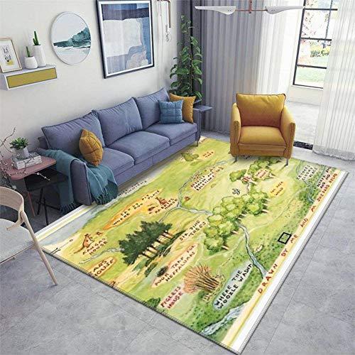 100 aker wood map - 4