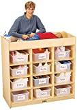 Jonti-Craft 5130JC 12 Tub Changing Table with Pad