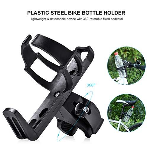 RUNACC Fahrrad Flaschenhalter Flessenhouder Fiets 360° Draaibare für Kinderwagen und Fahrrad - 5