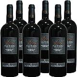 Montepulciano d'Abruzzo DOC   Aida Marchesi de Cordano   Vino Rosso D'Abruzzo   Confezione da 6 Bottiglie da 75 Cl   Idea Regalo