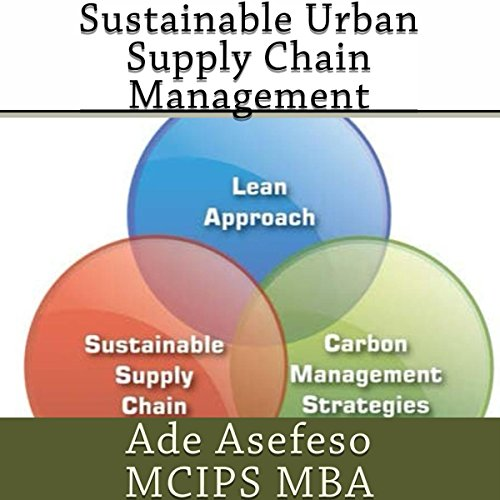 Sustainable Urban Supply Chain Management audiobook cover art
