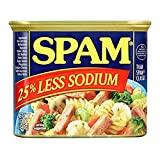 SPAM Less Sodium, 12 Oz (Pack Of 12)