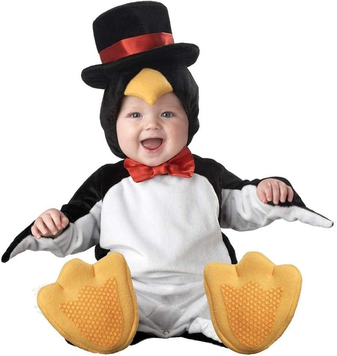 Enfant Penguin Costume Madagascar Oiseau Animal Zoo garçons filles tenue nouvel âge 4-6