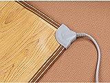 infactory Wärmematte: Beheizbare Infrarot-Fußboden-Matte, 50,5 x 55 cm, bis 60 °C, 70 Watt (Heizmatten) - 3