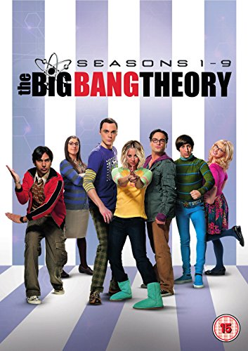 The Big Bang Theory - Season 1-9 (28 Dvd) [Edizione: Regno Unito] [Edizione: Regno Unito]