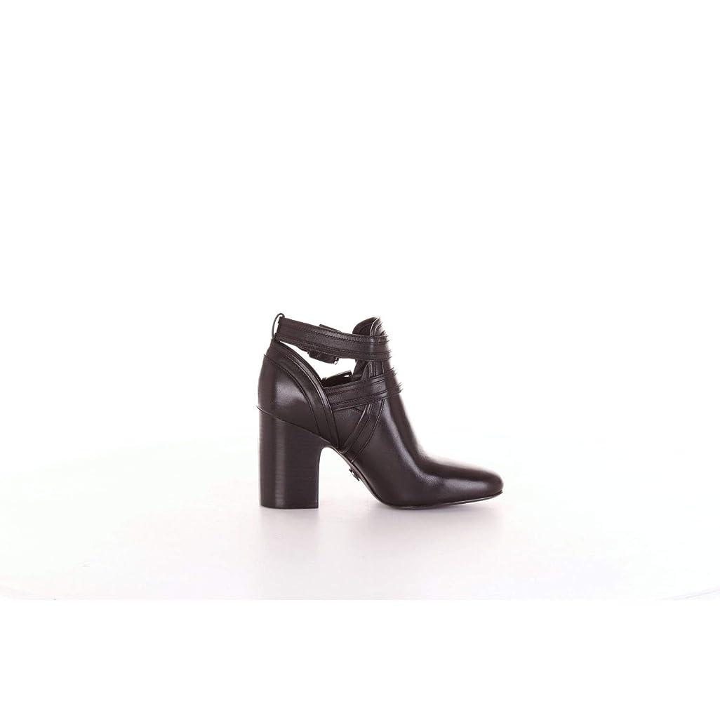 スワップ個人消費するMichael By Michael Kors レディース 40T8BLHB5L099 ブラック 革 ショートブーツ