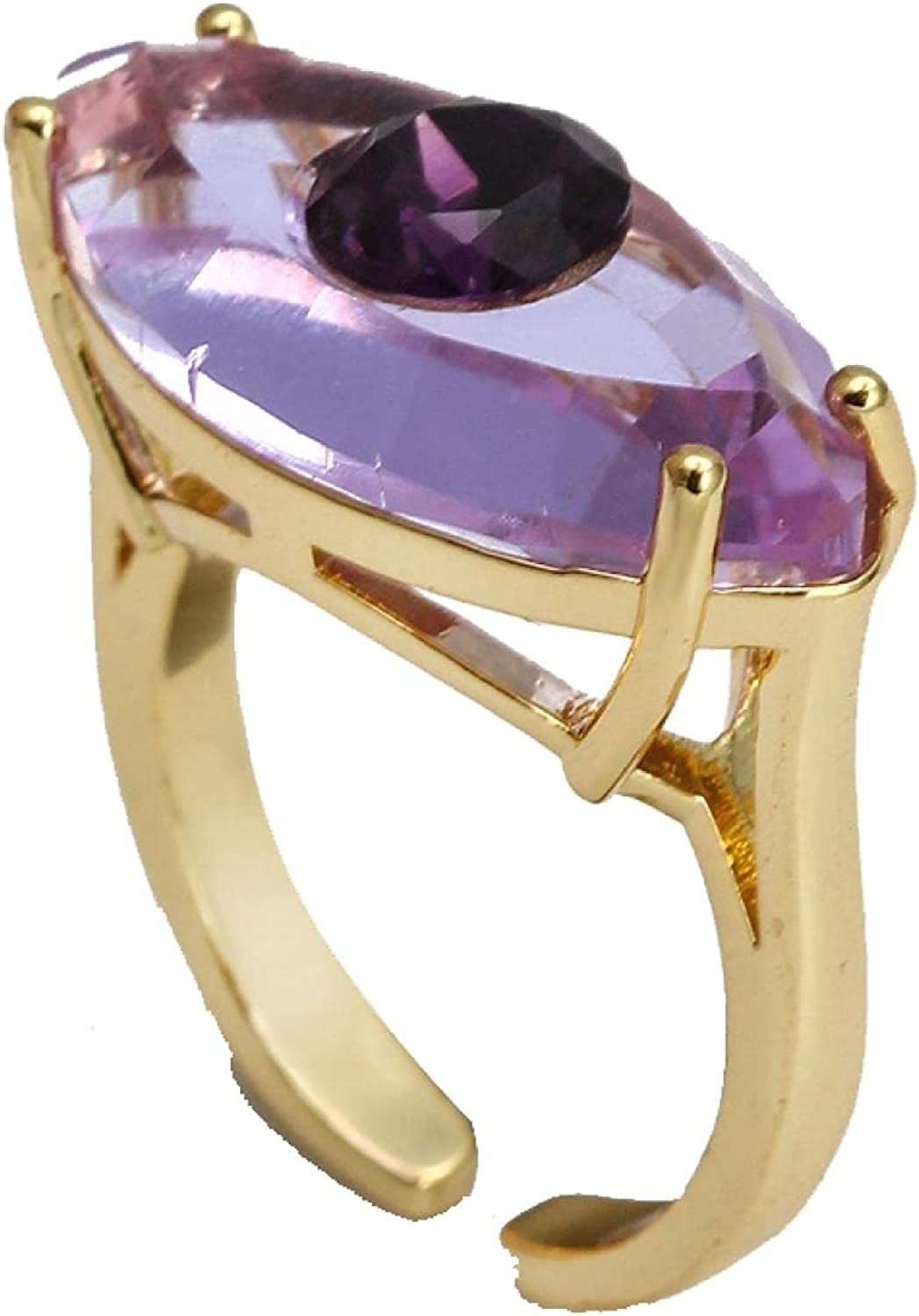 Colorful Turkish Eye Ring Adjustable Color Finger Ri Max 45% OFF Copper Fort Worth Mall Gold